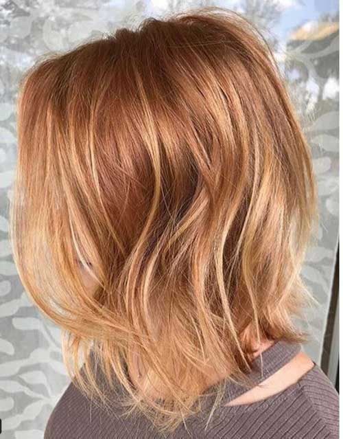 Copper Red Hair Color Ideas for Short Hair 2019