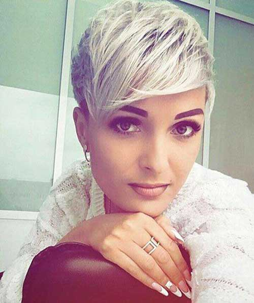 Modern Short Blonde Pixie Hairstyles