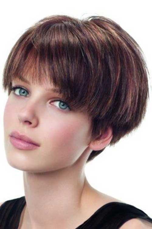 9. Mushroom Style Wedge Haircut