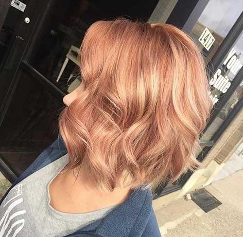 Warm Blonde Hair Color Ideas for Short Hair 2019