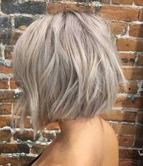 Short Ash Blonde Grey Hairstyles-10