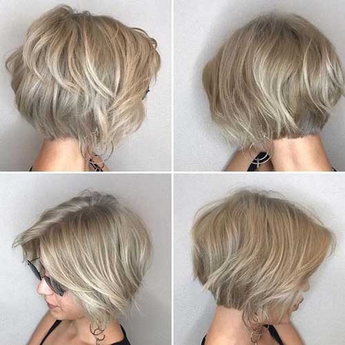 Easy Short Ash Blonde Hairstyles-12