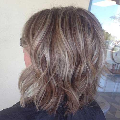 Short Ash Blonde Fine Hairstyles-8