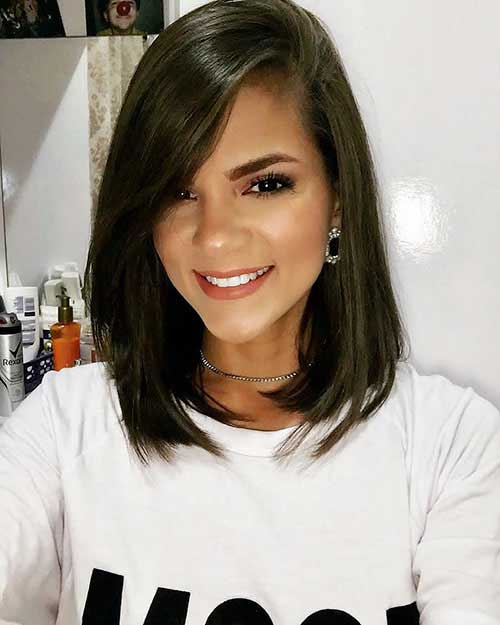 Short Haircuts For Oval Faces And Thick Hair