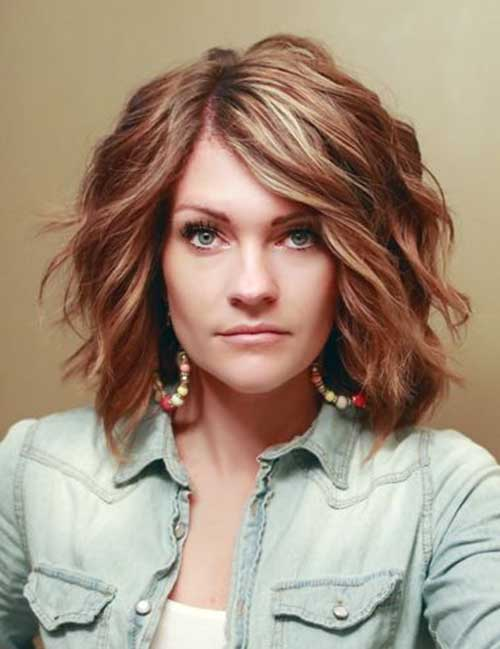 20 Short Hairstyles For Wavy Hair - crazyforus