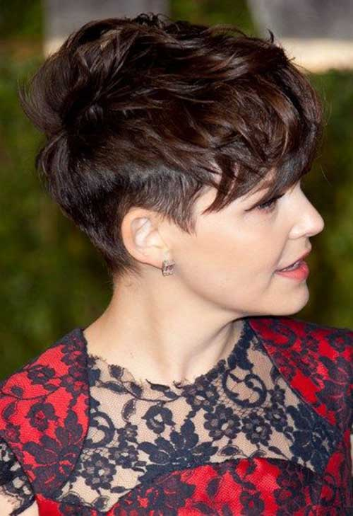 Ginnifer Goodwin Messy Pixie Cut