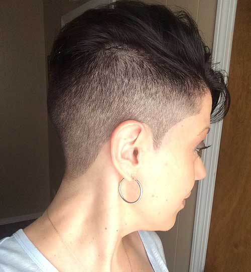 Shaved Pixie Cut