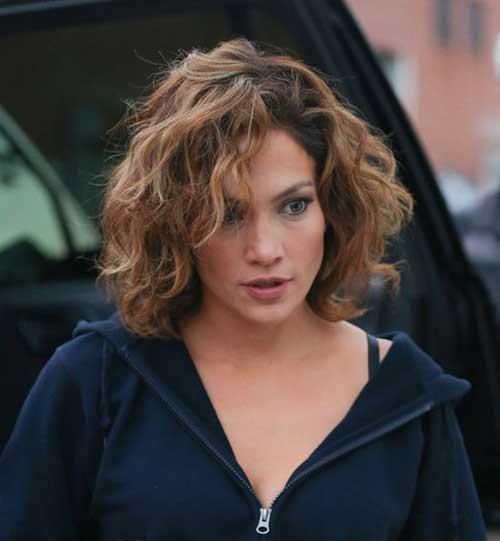 Jennifer Lopez Short Hair Style