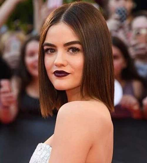Lucy Hale Short Hair
