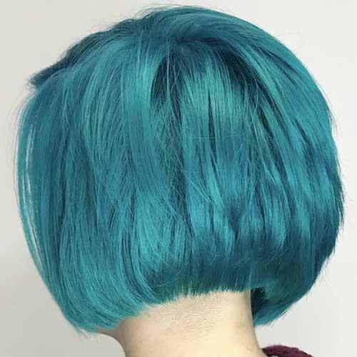 Unique And Stylish Short Blue Hair Ideas The Best Short