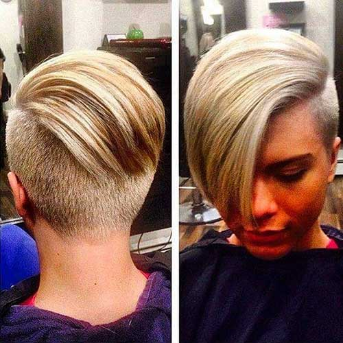 14 More Really Cool Short Hairstyles With Long Bangs