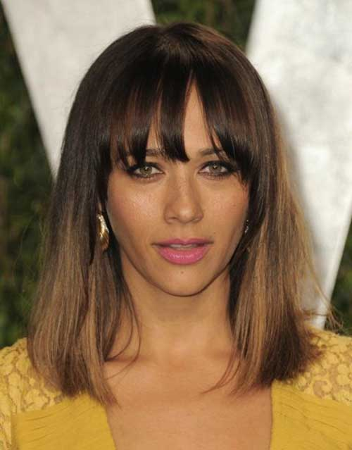 Rashida Jones Short Hairstyle