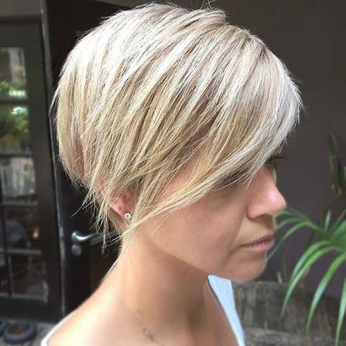 Latest Short Blonde Hairstyles For Women The Best Short