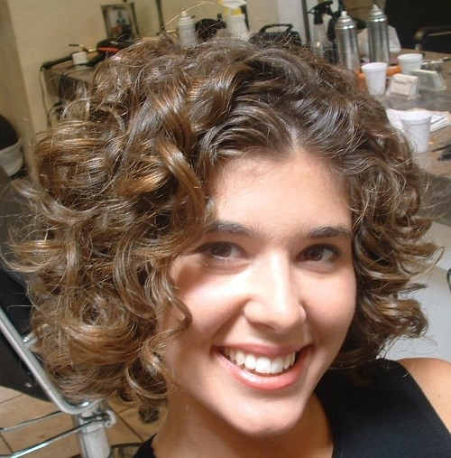 Short Hairstyles For Thick Curly Hair - Short and Curly Haircuts