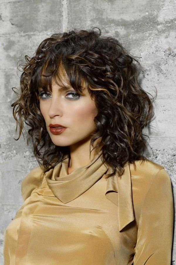 Best Medium Short Curly Hairstyles Of 2018 Short And