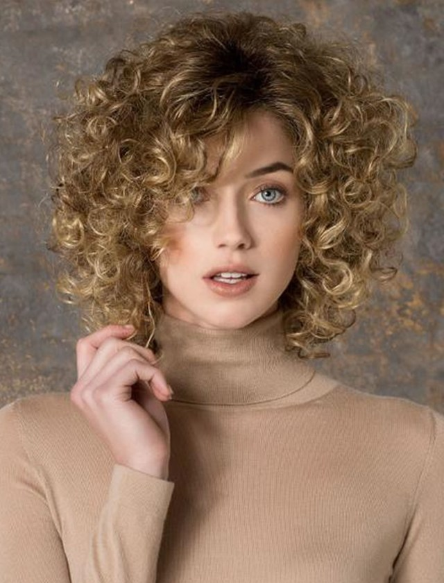 Medium Short Curly Hairstyles of 2018