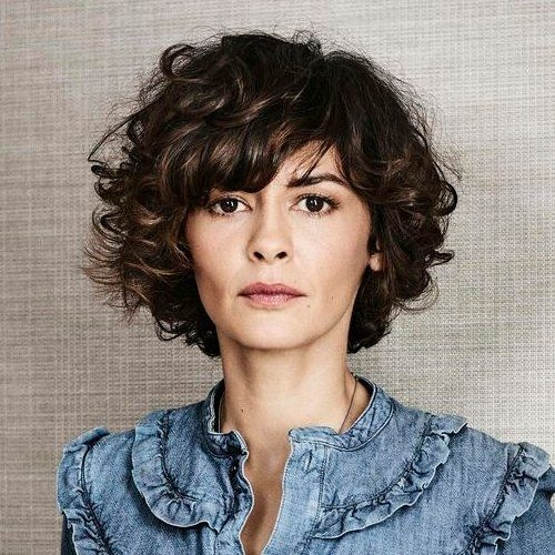 Know About Curly Short Hairstyles with Bangs to Look Different ...