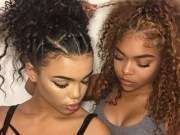 Cute Updos for Curly Hair