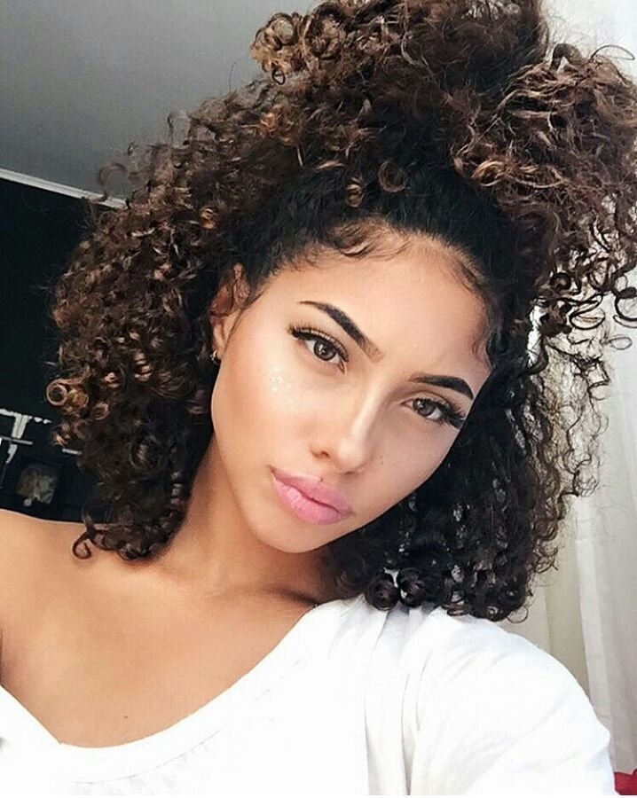 Some Cute Short Curly Hairstyles. - Short and Curly Haircuts