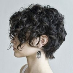 Some Cute Short Curly Hairstyles