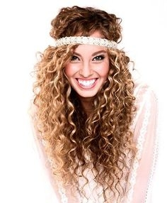 Some Easy Hairstyles for Curly Hair - some easy hairstyles for curly hair 7