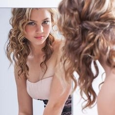 Some Easy Hairstyles for Curly Hair - some easy hairstyles for curly hair
