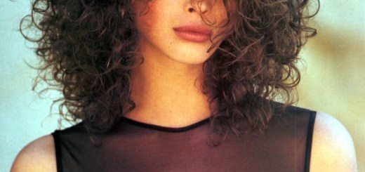 short curly hair models