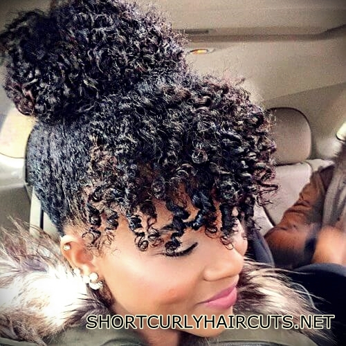 +40 Trend Natural Hairstyles for Short Hair - natural hairstyles short hair 15