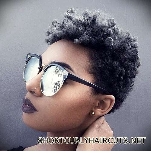+40 Trend Natural Hairstyles for Short Hair - natural hairstyles short hair 21