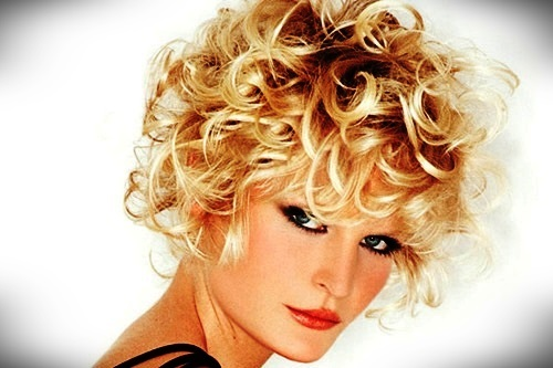 +30 Best Short Blonde Curly Hair - short blonde curly hair 3