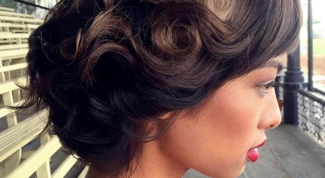 Short Curly Hairstyles for a Wedding - short curly hairstyles wedding 22