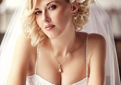 Short Curly Hairstyles for a Wedding - short curly hairstyles wedding 3