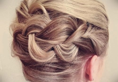 Short Curly Hairstyles for a Wedding - short curly hairstyles wedding 7