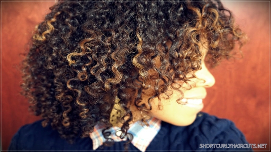 best hair colors curly hair 02 - Getting the Best Hair Color for Curly Hair
