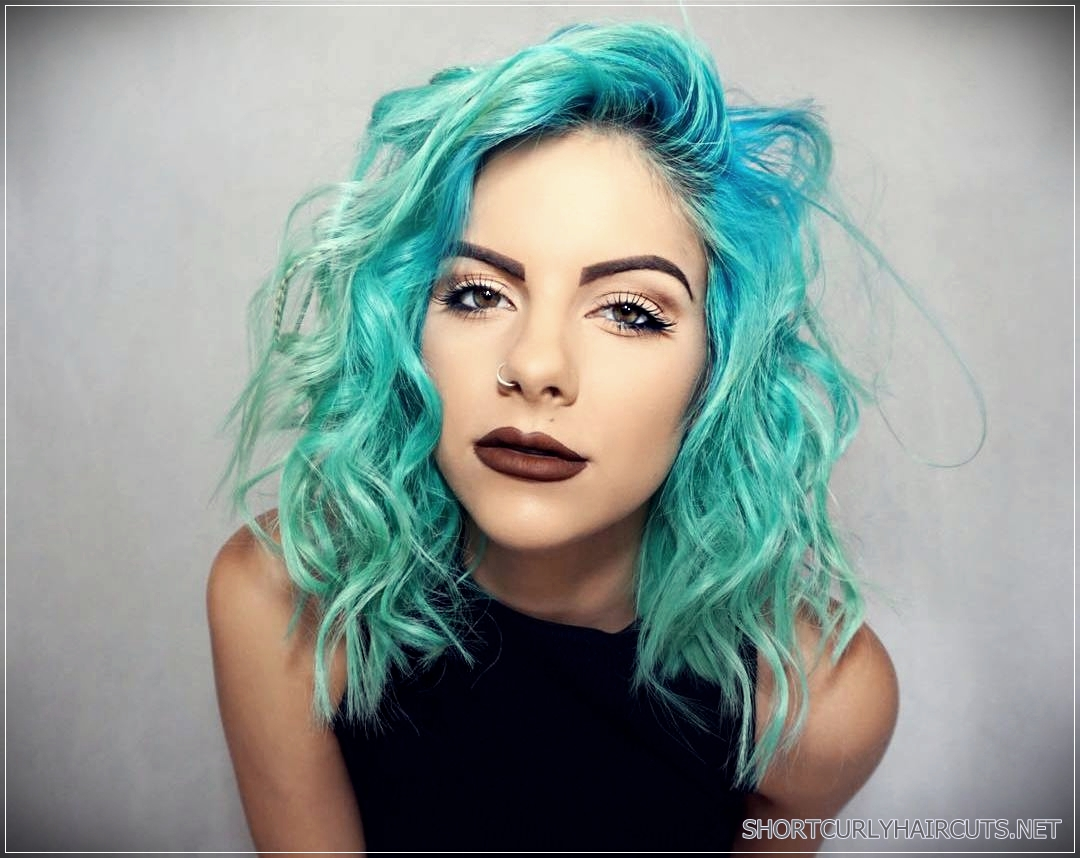 Getting The Best Hair Color For Curly Hair Short And Curly Haircuts