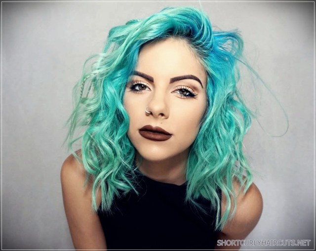 best hair color for curly hair