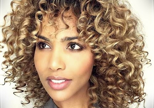 Top 20 Female Short Curly Hairstyles - female short curly hairstyles 11