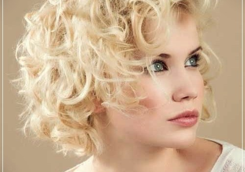 Top 20 Female Short Curly Hairstyles - female short curly hairstyles 20