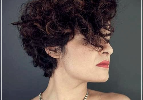 Top 20 Female Short Curly Hairstyles - female short curly hairstyles 5