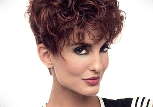 Top 20 Female Short Curly Hairstyles - female short curly hairstyles 7