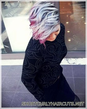 The Best Hair Color Ideas for Short Hair - hair color ideas short hair 20