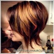 The Best Hair Color Ideas for Short Hair - hair color ideas short hair 27