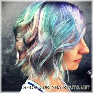 The Best Hair Color Ideas for Short Hair - hair color ideas short hair 30