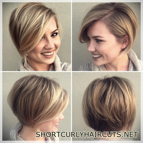 Short Hairstyles For Thin Hair In 2018 Short And Curly Haircuts