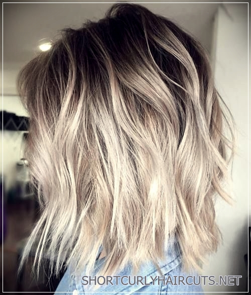 long choppy bob hairstyles brunettes and blondes 13 - 5 Long Choppy Bob Hairstyles for Brunettes and Blondes