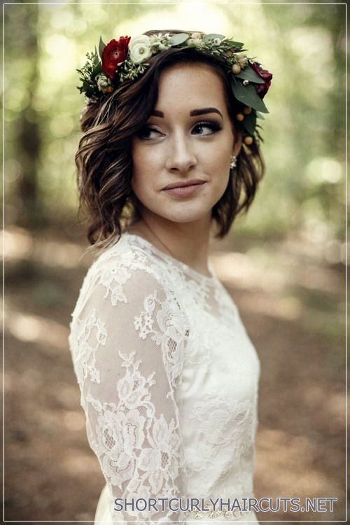 12 Stunning Short Hairstyles for Weddings - stunning short hairstyles for weddings 13