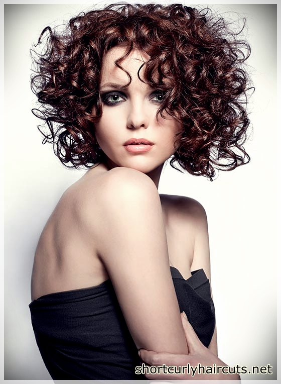 Curly hair models showing thin hair glow