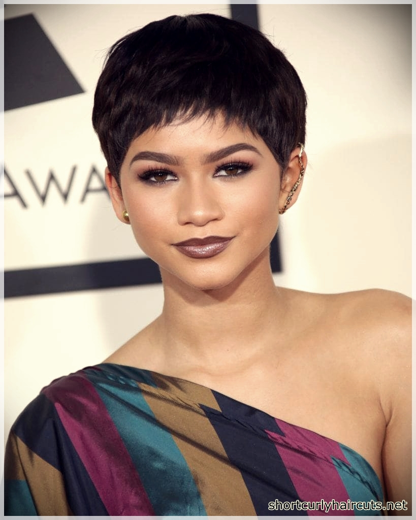 Best Pixie Haircuts for Round Faces - pixie haircuts for round faces 23