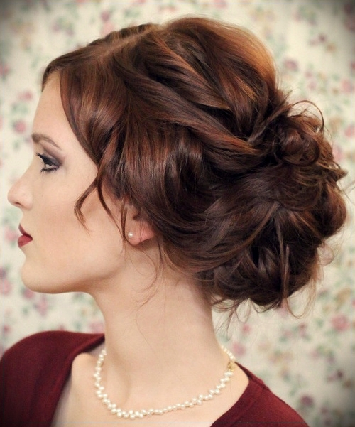 Different types of updos for short hair - updos for short hair 7