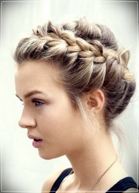 Different types of updos for short hair - updos for short hair 9